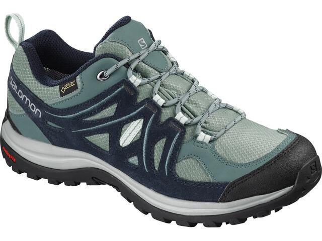 Salomon Ellipse 2 GTX Shoes Women Trellis/Navy Blazer/Eggshell Blue